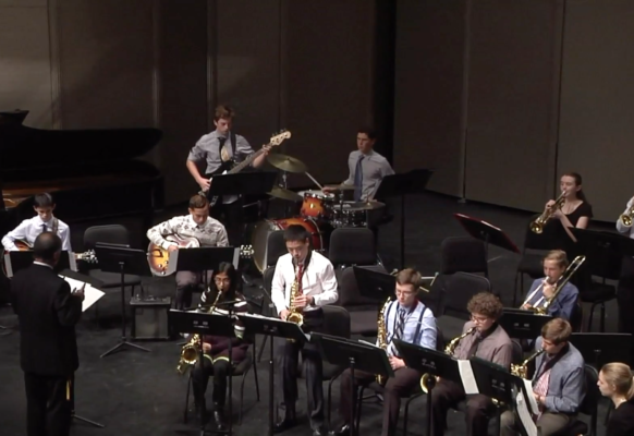 Jazz Band II Winter Concert 3