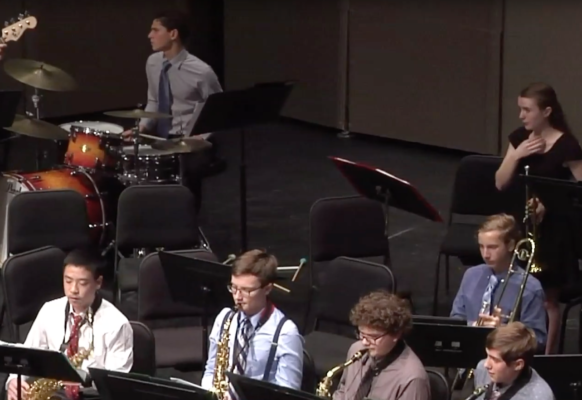 Jazz Band II Winter Concert 7