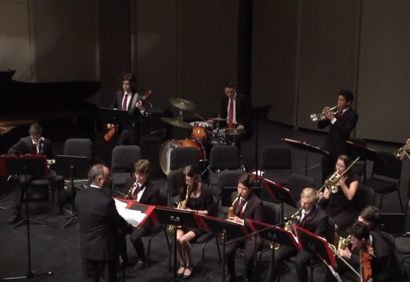 Jazz Band III Winter Concert 5